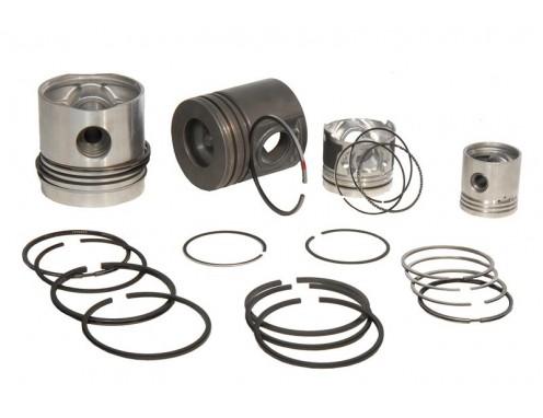 Motor Parçaları ve Görevleri -  Motor Piston Segman Takımı  Nedir ve Ne İşe Yarar?