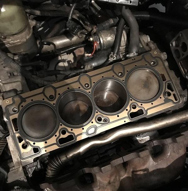 Z16XEP Motor Silindir Kapak Contası Yanması Tamiri