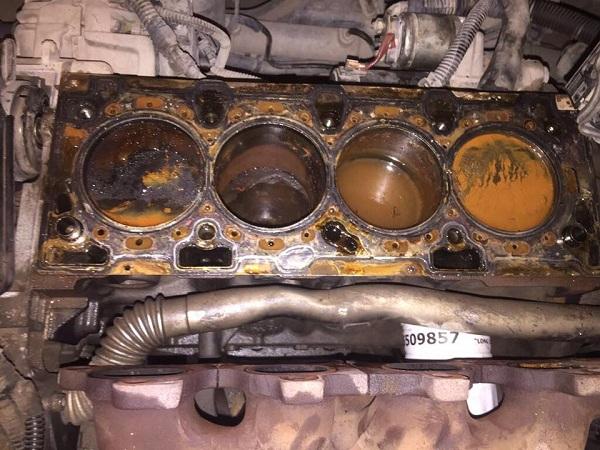 Z16XEP  - 2005 model  Opel Astra  Conta Yanması Tamiri - Motor Silindir Bloğu